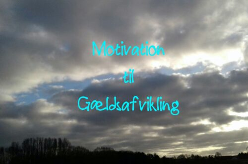 Motivation til Gældsafvikling